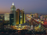 New York, New York Hotel and Casino and the Strip, Las Vegas, Nevada, USA Photographic Print by Gavin Hellier