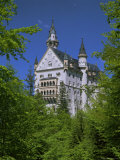 Royal Castle, Neuschwanstein, Bavaria, Germany, Europe Photographic Print by Gavin Hellier