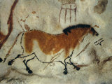 Cave Painting, Lascaux, Aquitaine, France Photographic Print by Robert Harding