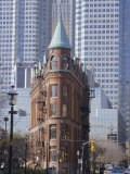 Old and New Buildings in the Downtown Financial District, Toronto, Ontario, Canada, North America Photographic Print by Anthony Waltham