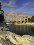Pont Du Gard, Roman Aqueduct, Unesco World Heritage Site, Near Avignon, Provence, France, Europe Photographic Print by Gavin Hellier
