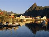 Fishing Village of Hamnoy, Moskenesoya, Lofoten Islands, Norway, Scandinavia, Europe Photographic Print by Gavin Hellier