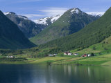 Scenery Near Songdal, Western Fjords, Norway, Scandinavia, Europe Photographic Print by Gavin Hellier