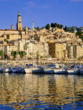 Menton, Cote d'Azur, Provence, France Photographic Print by Gavin Hellier