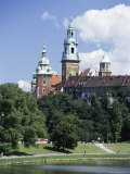 The Wawel Cathedral and Castle, Krakow (Cracow), Unesco World Heritage Site, Poland, Europe Photographic Print by Gavin Hellier