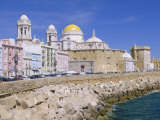 Cadiz Cathedral, Cadiz, Andalucia, Spain Photographic Print by Gavin Hellier