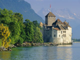 Chateau De Chillon, Montreux, Lake Geneva, Swiss Riviera, Switzerland Photographic Print by Gavin Hellier