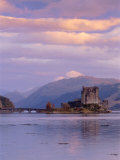 Eilean Donan (Eilean Donnan) Castle, Dornie, Highlands Region, Scotland, UK, Europe Photographic Print by Gavin Hellier