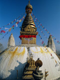 Swayambhunath Stupa (Monkey Temple), Kathmandu, Nepal, Asia Photographic Print by Gavin Hellier