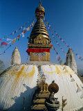 Swayambhunath Stupa (Monkey Temple), Kathmandu, Nepal, Asia Photographic Print by Gavin Hellier