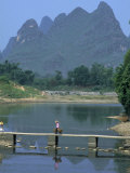 Guilin, Guangxi, China, Asia Photographic Print by Anthony Waltham