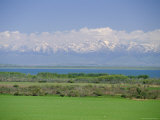 Lake Issyk-Kul, Second Largest Mountain Lake, Kirghizstan (Kyrgyzstan), Fsu, Central Asia, Asia Photographic Print by Gavin Hellier