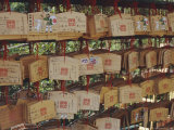 Prayer Tablets, Kiyomizu Temple, Kyoto, Japan, Asia Photographic Print by David Poole