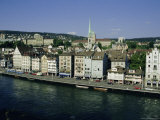 City View Across the Limmat River, Zurich, Switzerland, Europe Photographic Print by Michael Jenner