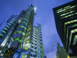 Lloyds Building at Night, City of London, London Photographic Print by Lee Frost