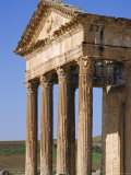 The Capitol, Dougga (Roman Ruins), Tunisia, North Africa Photographic Print by David Poole