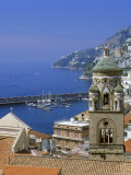 Amalfi, Costiera Amalfitana (Amalfi Coast), Unesco World Heritage Site, Campania, Italy, Europe Photographic Print by G Richardson