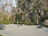Taizo, Stone Garden in Temple, Kyoto, Japan, Asia Photographic Print by Michael Jenner