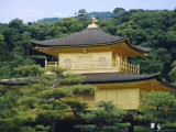 Temple of the Golden Pavilion, Kyoto, Japan Photographic Print by David Poole