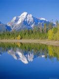 Jackson Lake, Colter Bay, Grand Teton National Park, Wyoming, USA Photographic Print by Rolf Richardson