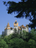 Bran Castle (Dracula's Castle), Transylvania, Romania, Europe Photographic Print by Charles Bowman