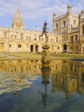 Christchurch College, Oxford, England Photographic Print by Charles Bowman