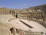 Roman Amphitheatre of El Djem, Tunisia, North Africa Photographic Print by Charles Bowman