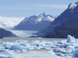 Grey Glacier, Torres Del Paine National Park, Chile, South America Photographic Print by Jane Sweeney