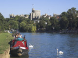 Windsor Castle and River Thames, Berkshire, England, United Kingdom, Europe Photographic Print by Charles Bowman