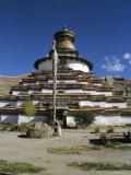 Kumbum Stupa, Pelkor Chode Monastery, Gyanze (Gyantse), Tibet, China, Asia Photographic Print by Jane Sweeney