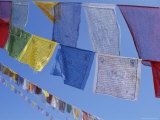 Buddhist Prayer Flags, Bodhnath, Kathmandu, Nepal, Asia Photographic Print by David Poole