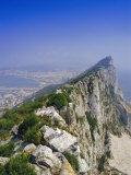 The Rock's Peak, Gibraltar, Bay of Algeciras, Mediterranean Sea, Europe Photographic Print by Charles Bowman