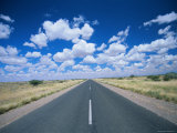 Straight Road Near Mariental, Namibia, Africa Photographic Print by Lee Frost