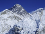 Mount Everest from Kala Pata, Himalayas, Nepal, Asia Photographic Print by David Poole