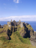 Dunluce Castle, County Antrim, Northern Ireland, UK, Europe Photographic Print by Charles Bowman