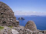 Early Christian Site, Skellig Michael, County Kerry, Munster, Republic of Ireland (Eire), Europe Photographic Print by Michael Jenner