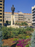 Parliament, Grand Serail, Beirut, Lebanon, Middle East, North Africa Photographic Print by Charles Bowman