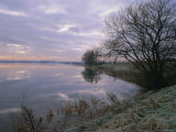Winter Fenland Scene, Whittlesey, Near Peterborough, Cambridgeshire, England, UK, Europe Photographic Print by Lee Frost
