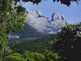 Mount Kinabalu, Sabah, Island of Borneo, Malaysia, Asia Photographic Print by David Poole