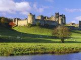 Alnwick Castle, Alnwick, Northumberland, England Fotografisk tryk af Lee Frost