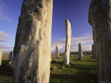 Standing Stones of Callanish, Isle of Lewis, Outer Hebrides, Scotland, United Kingdom, Europe Photographic Print by Lee Frost