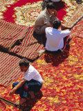 Carpet Market, Tashkent, Uzbekistan, Central Asia Photographic Print by Upperhall Ltd