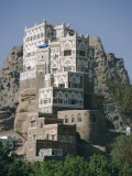Old Summer Palace of Iman Yahya, Dar Al Hayjar, Yemen, Middle East Photographic Print by Jj Travel Photography
