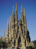La Sagrada Familia, Gaudi Cathedral, Barcelona, Catalonia (Cataluna) (Catalunya), Spain, Europe Photographic Print by Adina Tovy