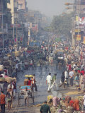 Street Life, Calcutta, India, Asia Photographic Print by Upperhall Ltd