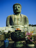 Giant Buddha in Kamakura, Japan Photographic Print by Adina Tovy