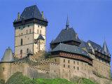 Karlstejn Castle, 14th Century, Near Prague, Czech Republic, Europe Photographic Print by Upperhall Ltd