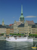 Munkbroleden Waterfront, Gamla Stan (Old Town), Stockholm, Sweden, Scandinavia, Europe Photographic Print by Duncan Maxwell