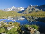 The Dent Blanche and Ober Gabelhorn, Zermatt, Valais, Switzerland, Europe Photographic Print by Ruth Tomlinson