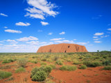 Ayers Rock, Uluru National Park, Northern Territory, Australia Photographic Print by Hans Peter Merten